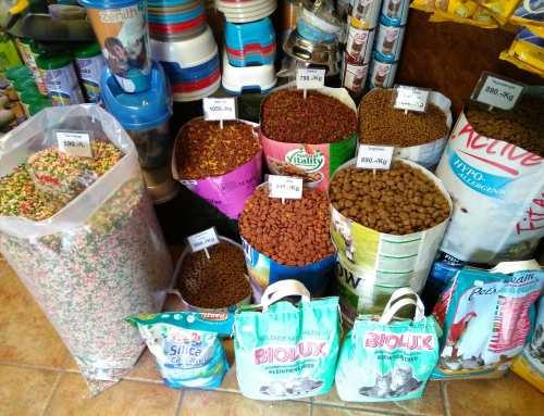Kutya és cica száraz tápok széles választéka megtalálható üzletünkben.